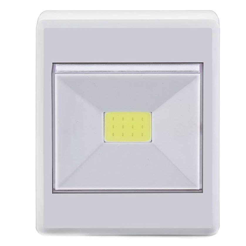 Luminaria Mini LED Click 3W Branca - Ecoline