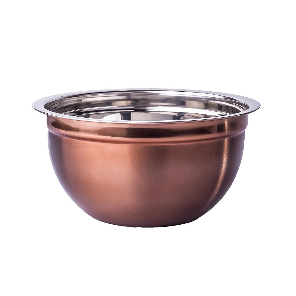 Tigela Inox Bowl 17 cm Cobre 8070 - Plasvale