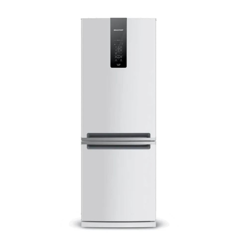 GeladeiraRefrigerador Brastemp Frost Free Inverse 460L Inox 127V - BRE59AKANA