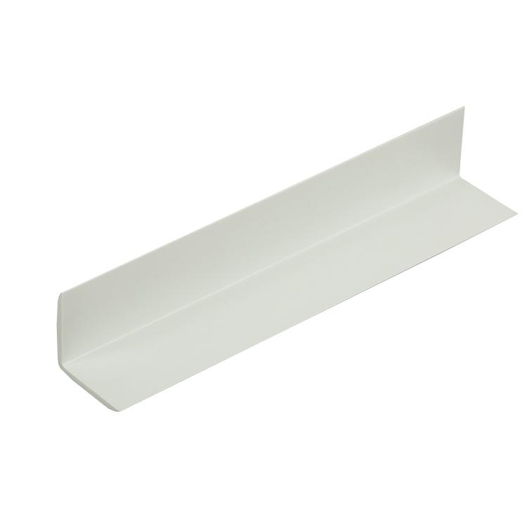 Cantoneira 90 de PVC 3m Branca 2411033000 - Tecnoperfil