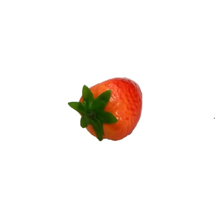 Enfeite de Plastico Morango 5cm - Winmax