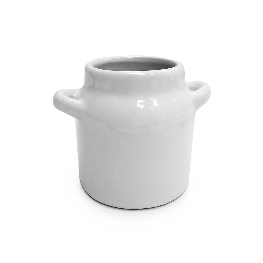 Vaso Decorativo de Ceramica 7cm Branco - Winmax