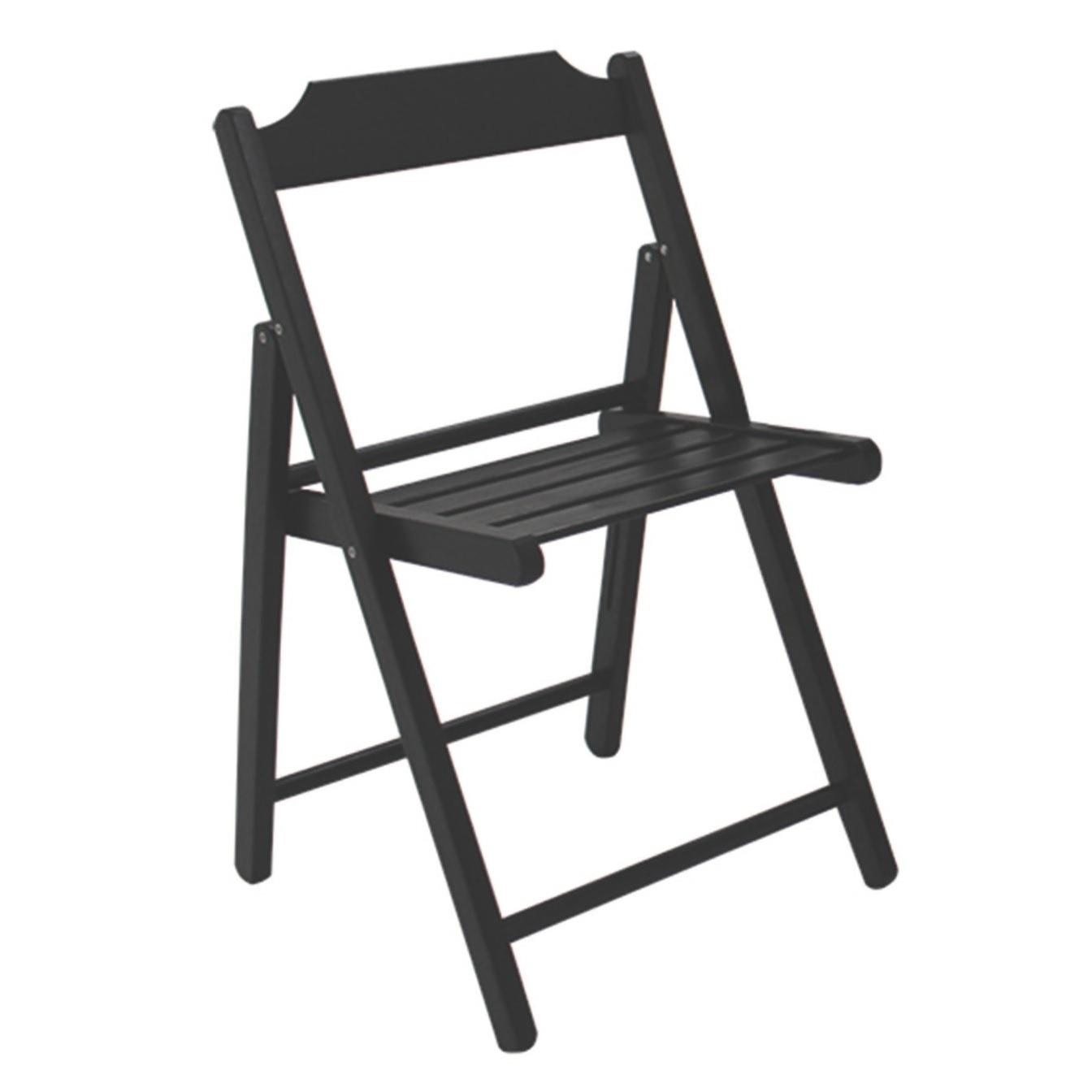 Cadeira de Madeira Dobravel Beer Tabaco - Tramontina