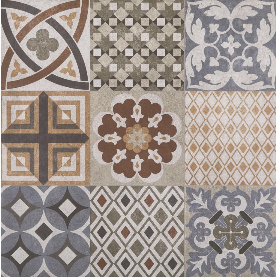 Ceramica Tipo A Urbana Retro Mix 212 m - 40864E 190025 - Pointer
