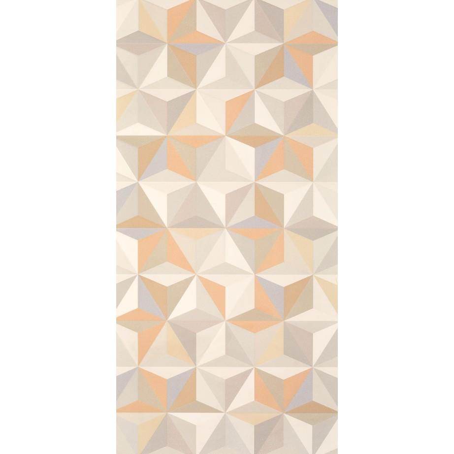 Ceramica Tipo A 45x90cm Retificado Geometrico Stars Mate Bege Claro - Pointer