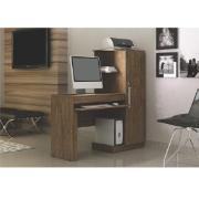 Mesa para Computador MDP Office Ipê MDP 137cm - Valdemóveis