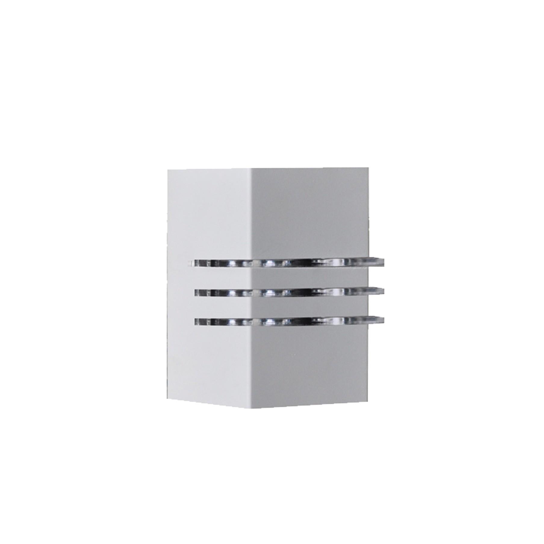 Arandela de Aluminio Ibiza 1 Lampada Branca 1471 - Attena