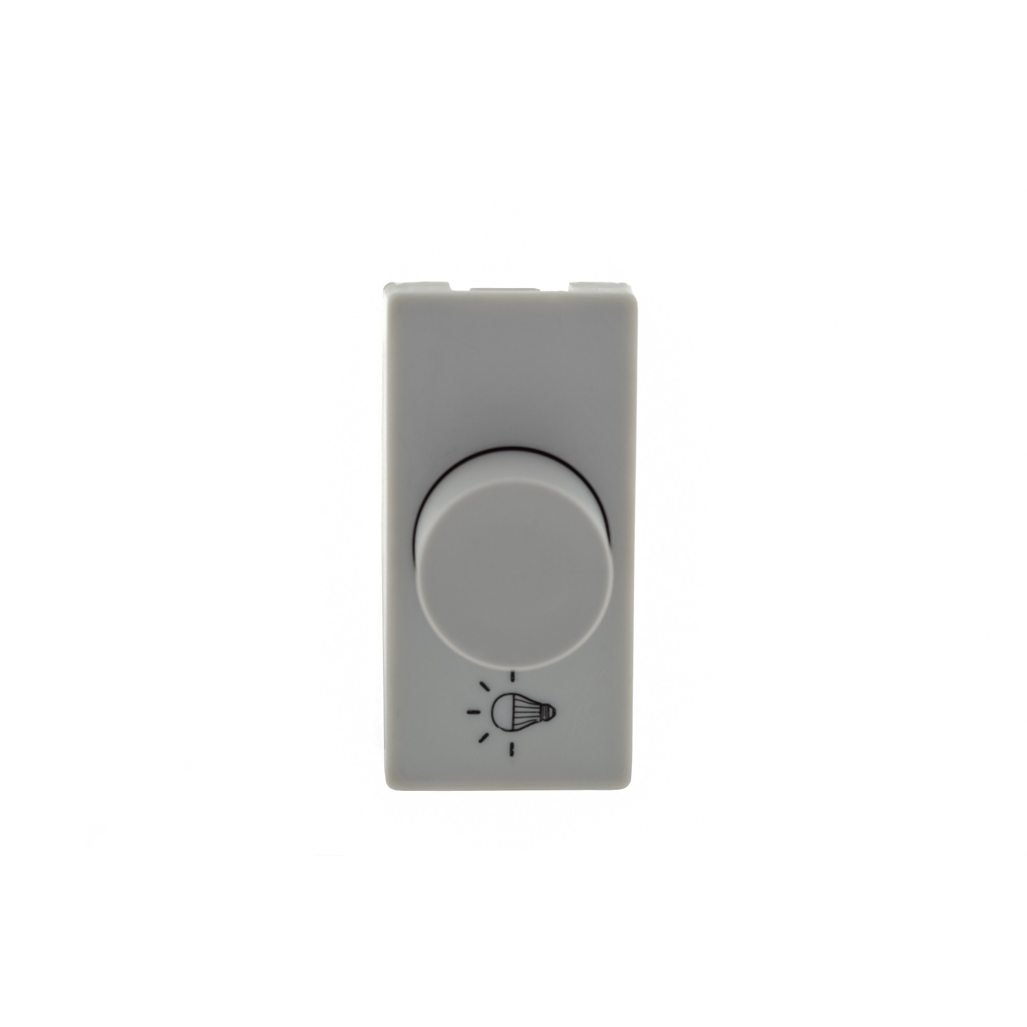 Variador de Luminosidade Rotativo Modular de Embutir Bivolt Cinza Plus - Legrand