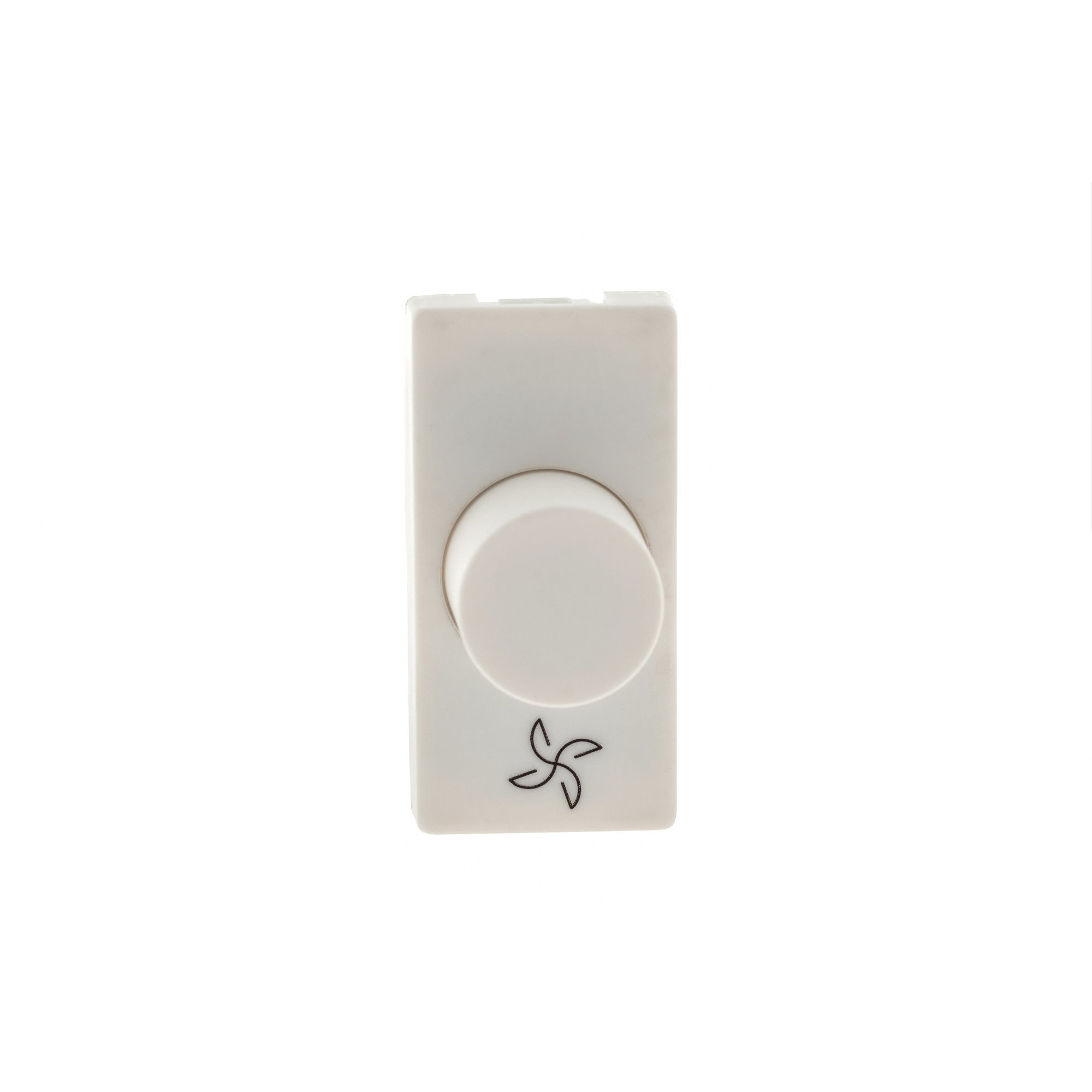 Variador de Velocidade Rotativo Modular de Embutir Bivolt Branco Plus - Legrand