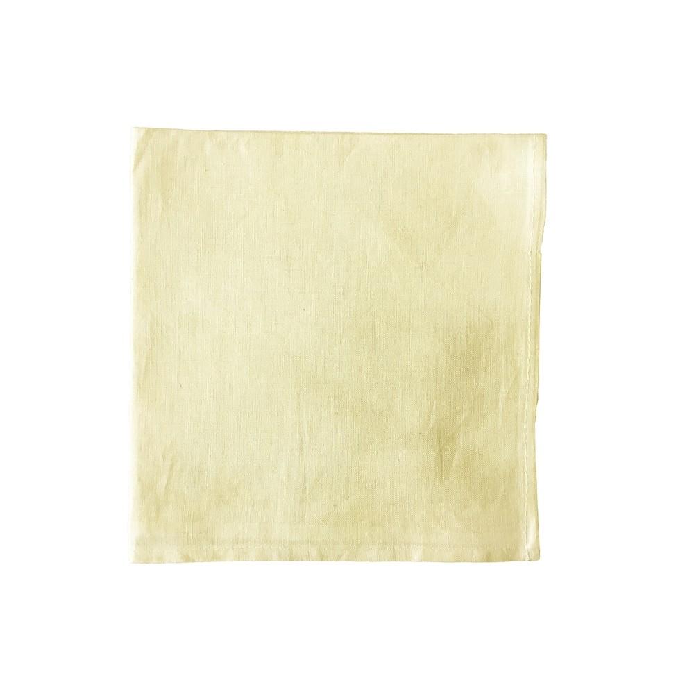 Guardanapo Liso 42 x 42 cm Bege - Rafimex