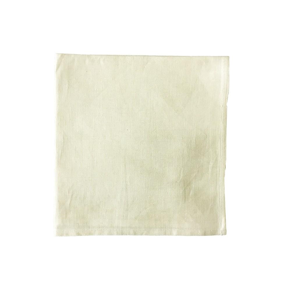 Guardanapo Liso 42x42 cm Bege - Rafimex