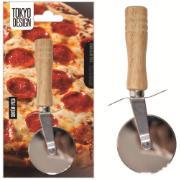 Cortador Pizza Bambu 18cm - Nascente