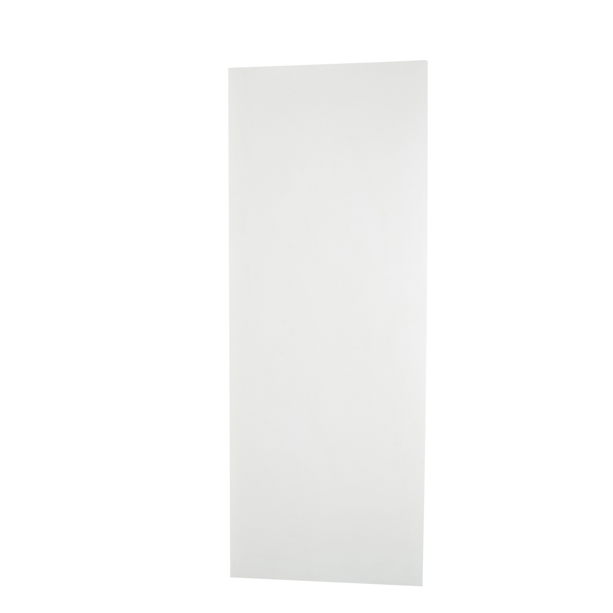 Porta de Madeira de Abrir Lisa Semissolido 70 x 210cm Pinus - Branco - Madelar