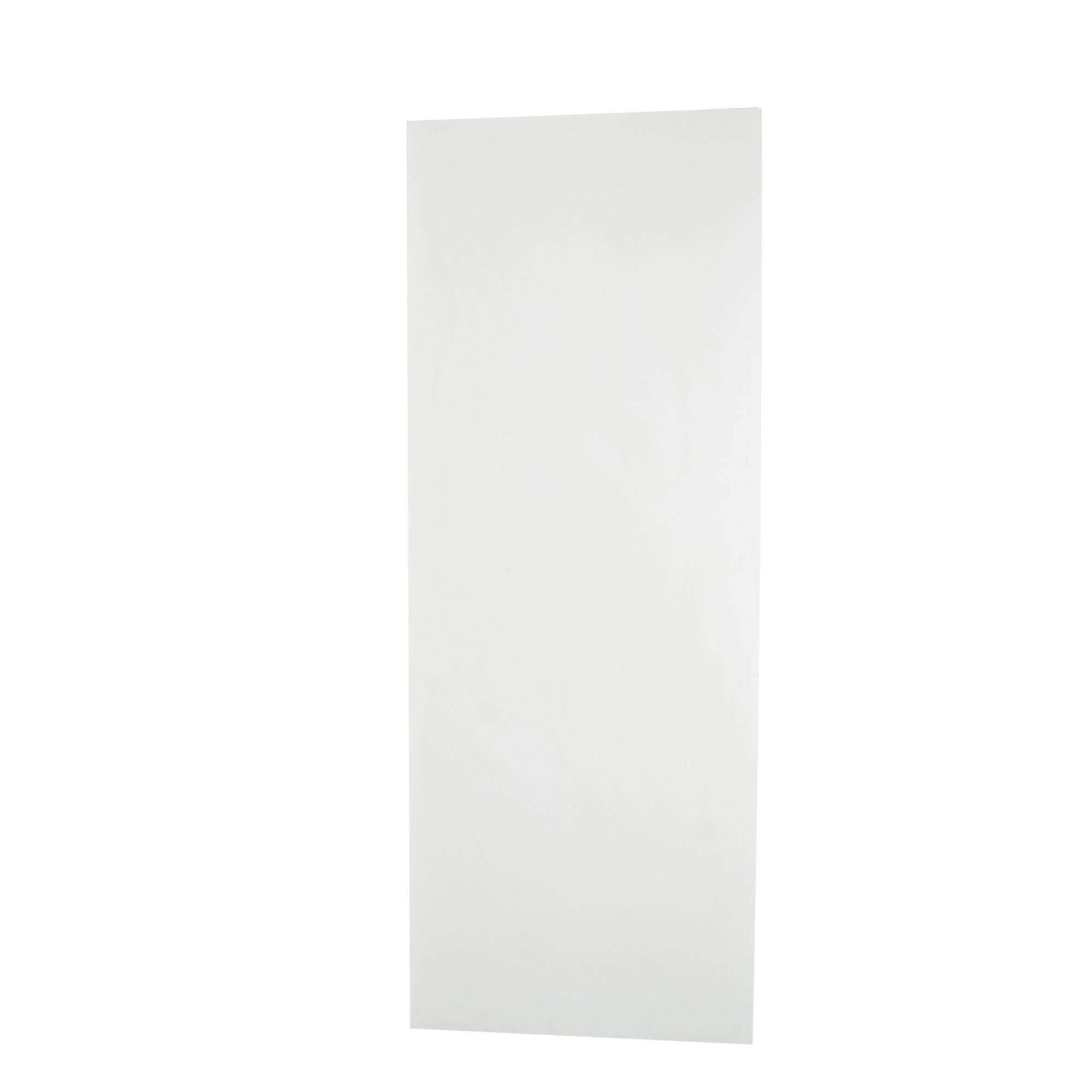 Porta de Madeira de Abrir Lisa Semissolido 90 x 210cm Pinus Branco - 529914 - Madelar