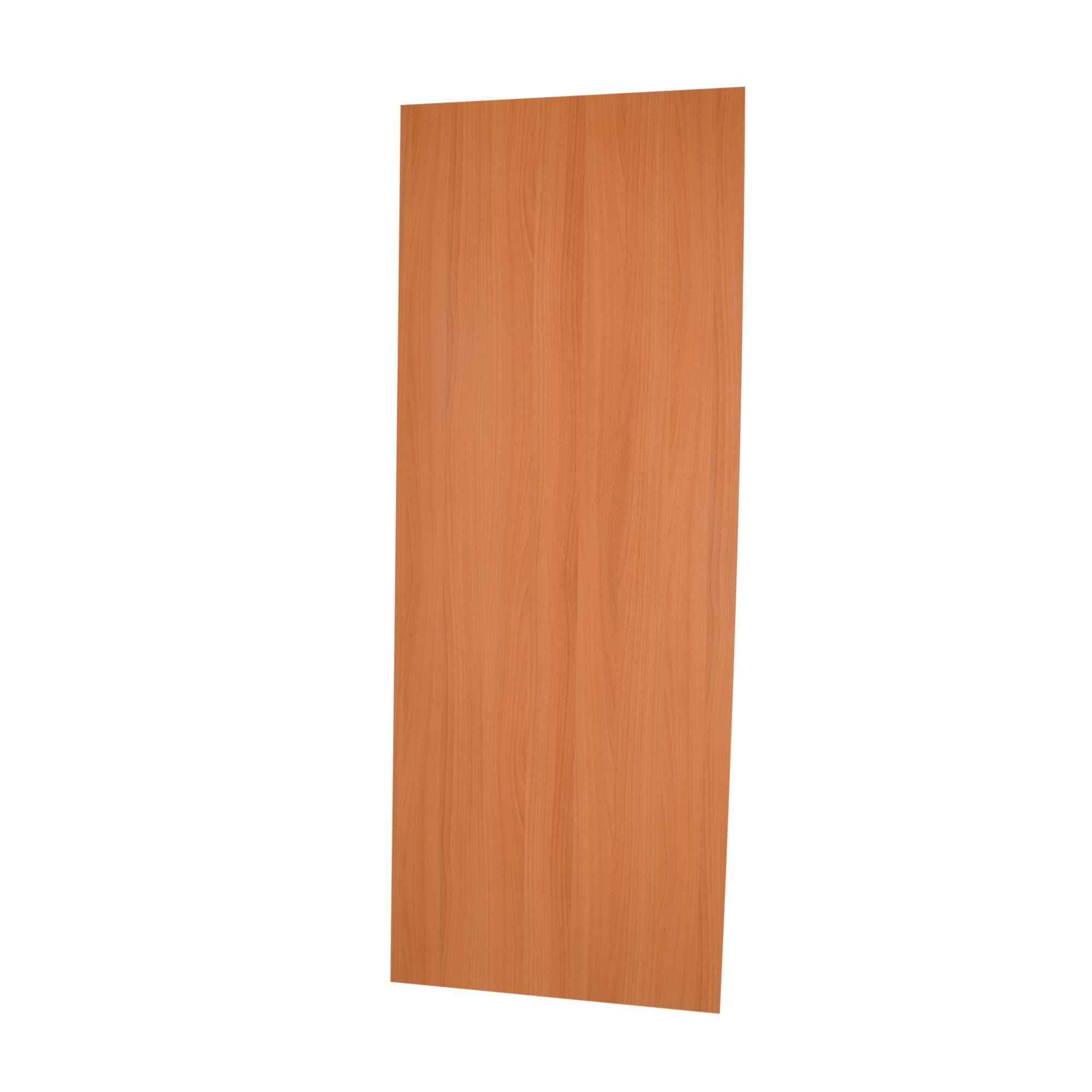 Porta de Madeira de Abrir Lisa Semissolido 80 x 210cm Pinus Branco - 537711 - Madelar