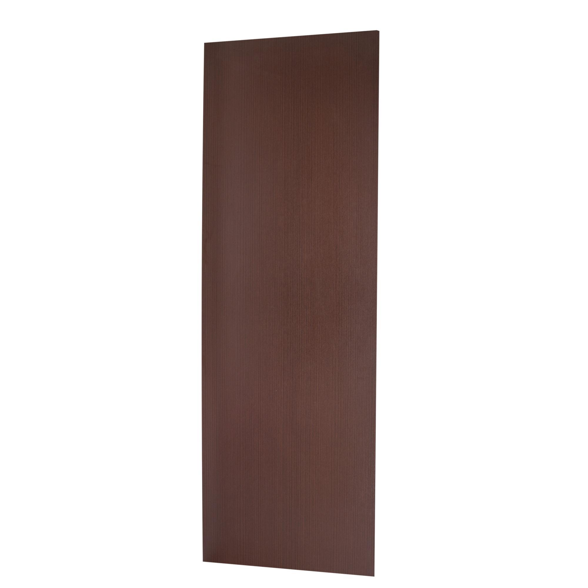 Porta de Madeira de Abrir Lisa Semissolido 80 x 210cm Pinus Branco - 537759 - Madelar