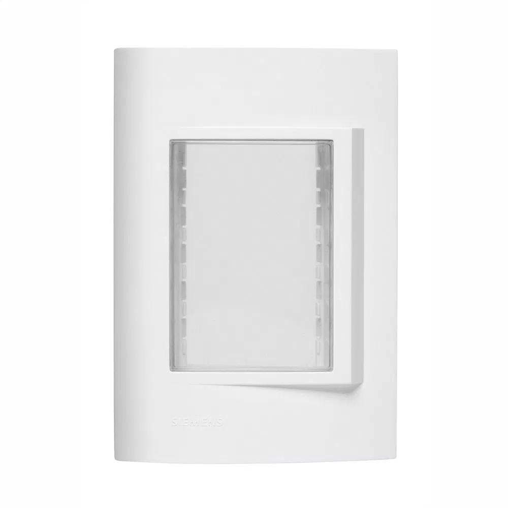 Placa 4 x 2 Retangular Branco - Vivace - Iriel