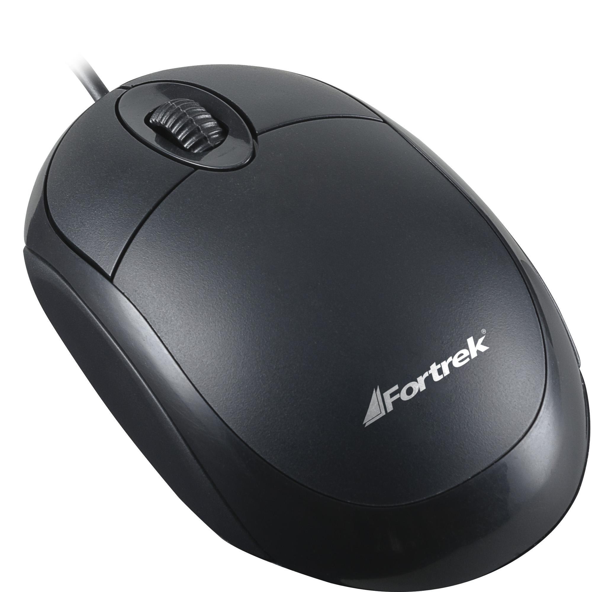 Mouse Optico USB 800Dpi OML101 62845 - Fortrek