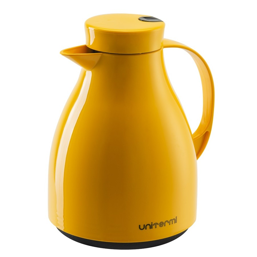 Bule Termico de Plastico 1L Amarelo - Unitermi