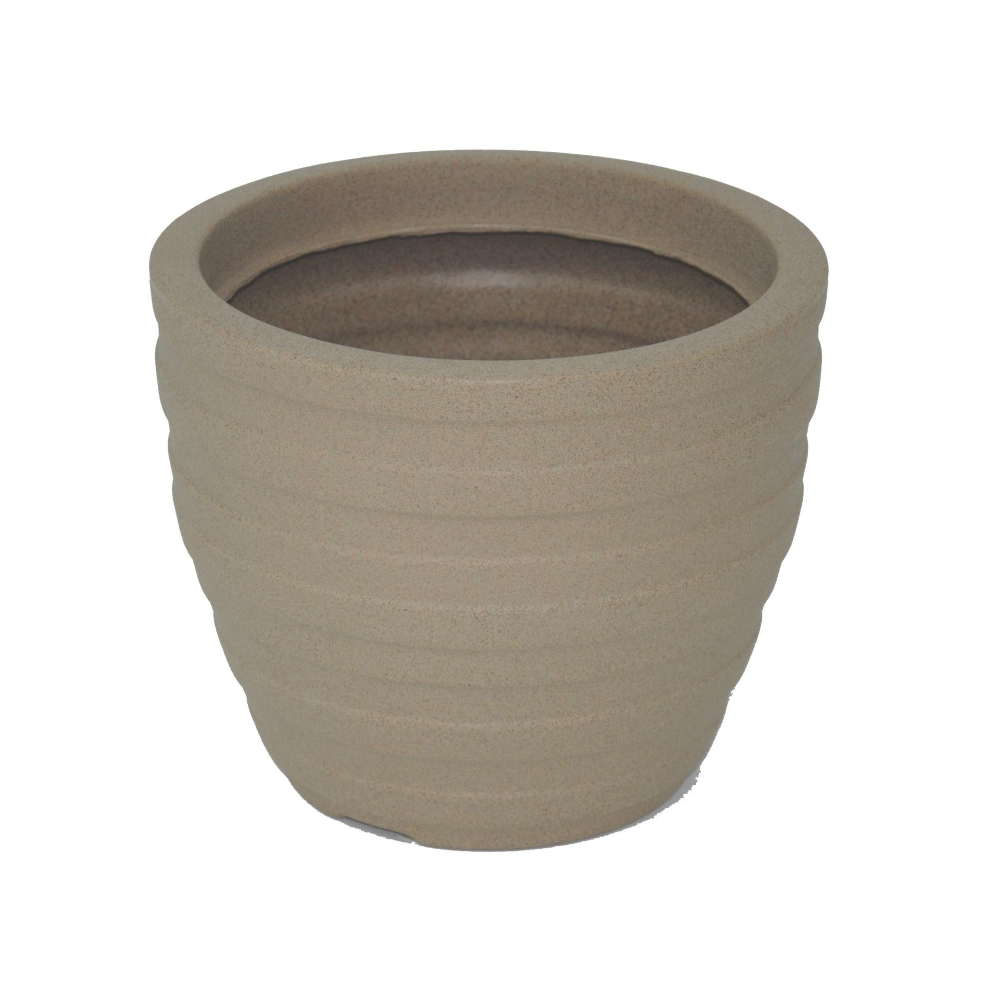 Vaso para Plantas Polietileno 24x285 cm Cor Areia Inca - Tramontina