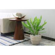 Vaso para Plantas Polietileno 24x28,5 cm Cor Areia Inca - Tramontina