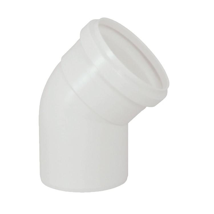 Joelho 45 PVC Branco 150 mm - Krona