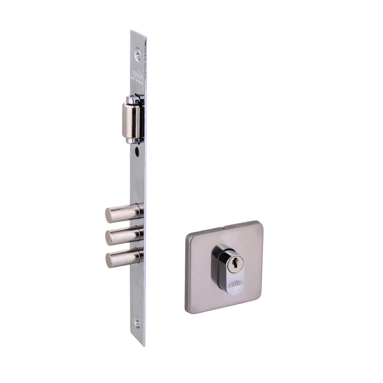 Fechadura Externa 55 mm Cromado Trinco Rolete 4310086TR-Z-IP - Arouca