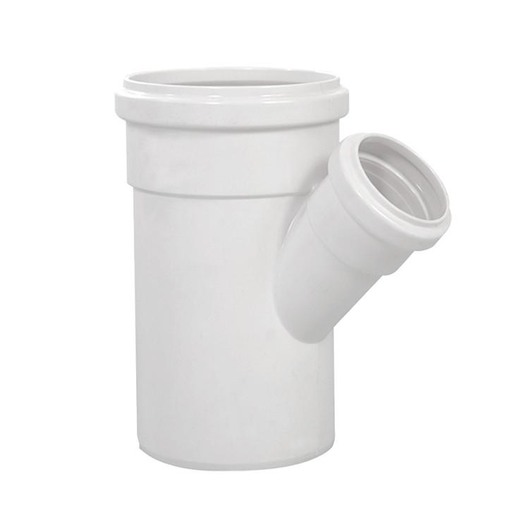 Juncao Simples 45 PVC Branco 100 mm x 50 mm - Krona