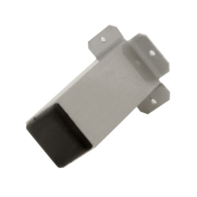 Pe para Moveis de Aluminio Escovado 150mm Quadrado - Hastvel