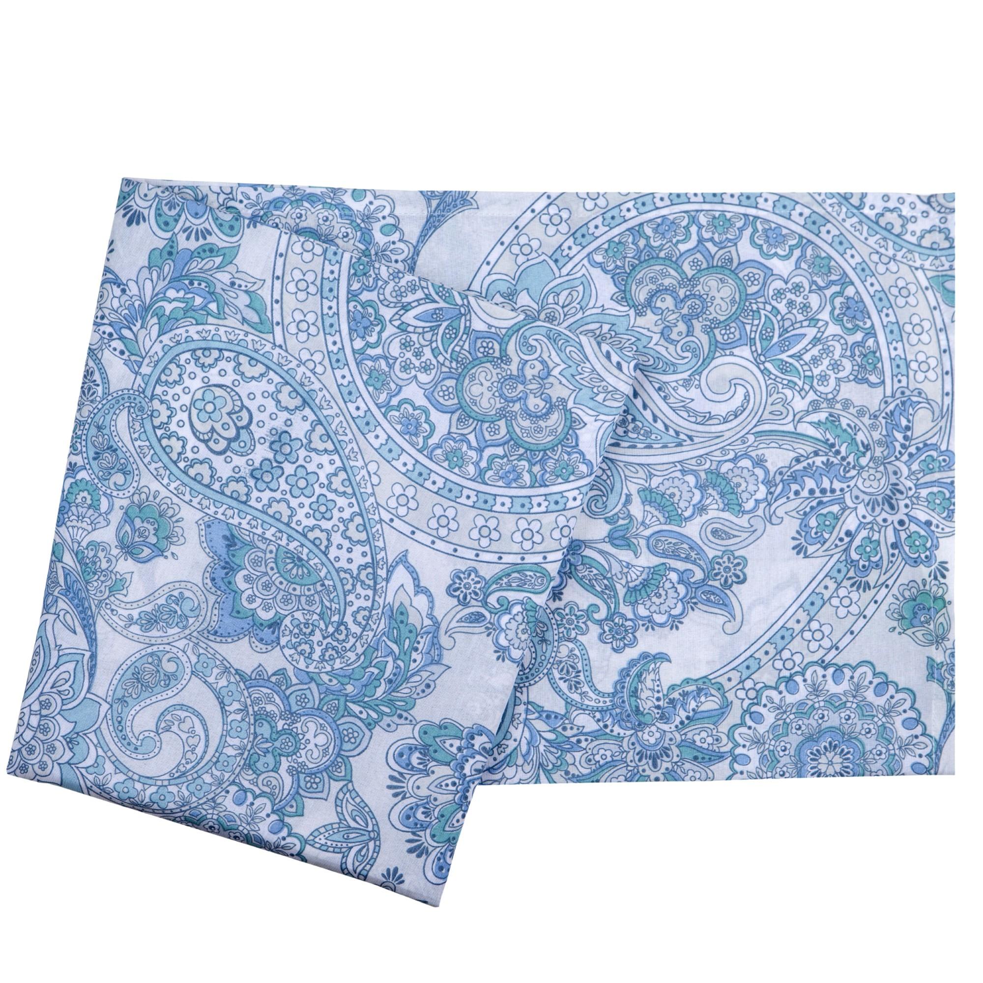 Toalha de Mesa Luane 160x160 Azul - Santista