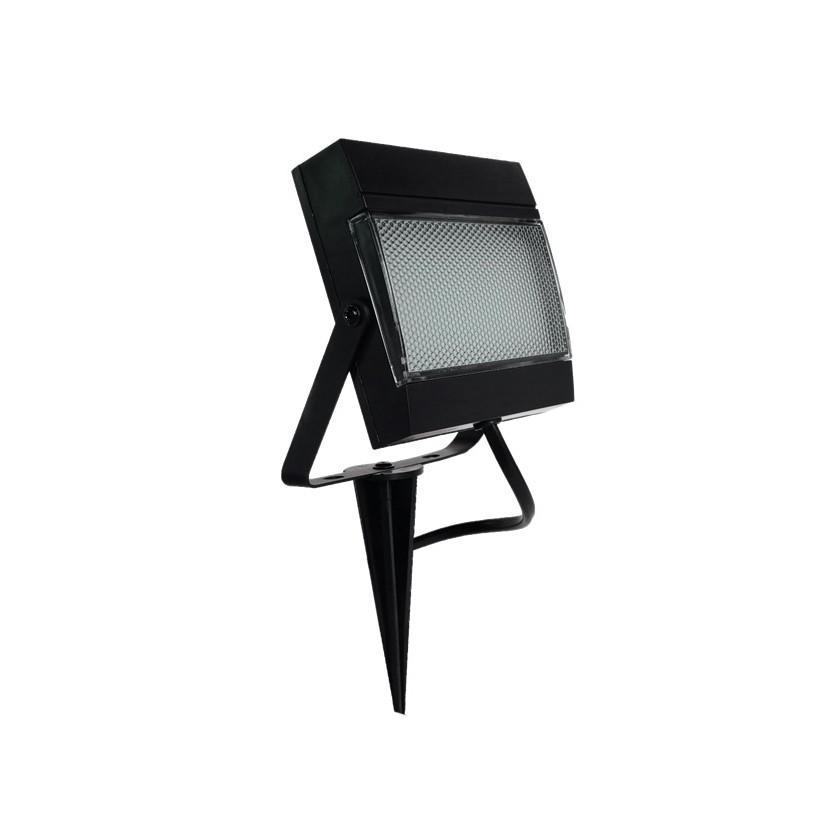 Refletor LED com Estaca 75W Luz Verde Preto - Ecoforce