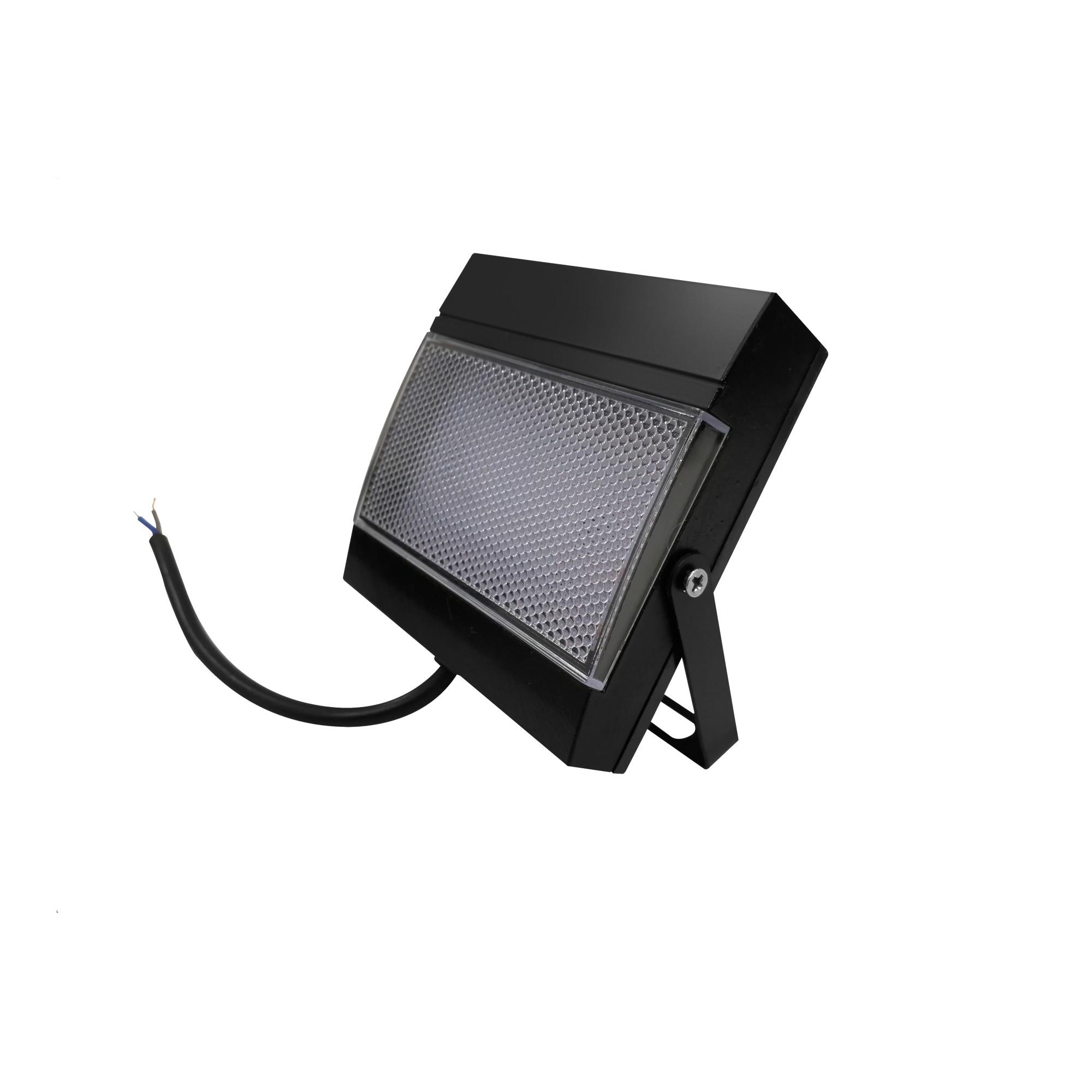 Refletor LED 75W Luz Branca IP65 Preto - Ecoforce