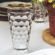 Jogo de Copos de Vidro 6 Peças 365ml Transparente Celebrar - Casambiente