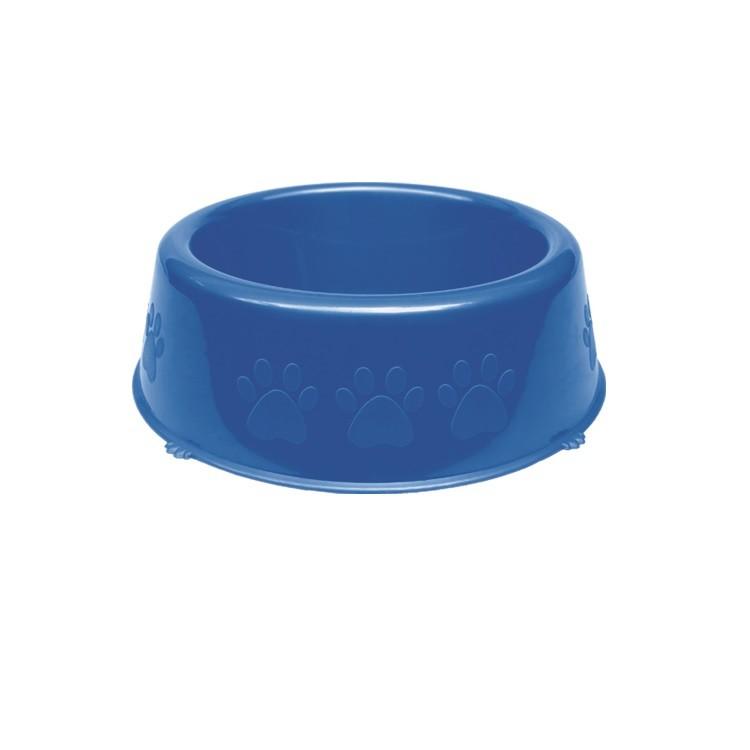 Comedouro de Plastico 1100ml Azul - 10328 - Pet Injet