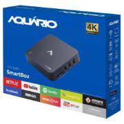 Smartv Box Android 4K 8GB - STV2000 - Aquário