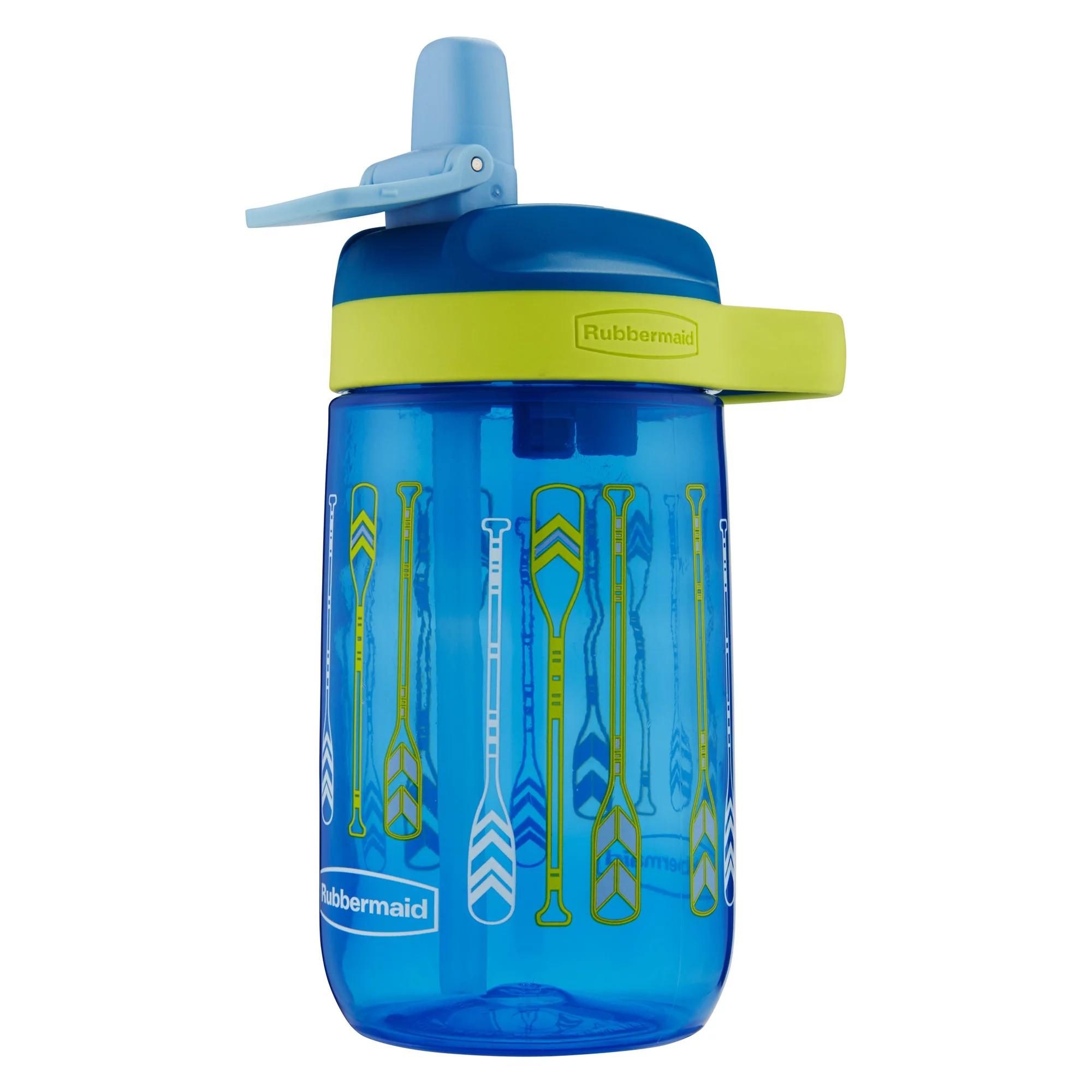 Garrafa Squeeze Plastico 414 ml Azul 0954 - Invicta