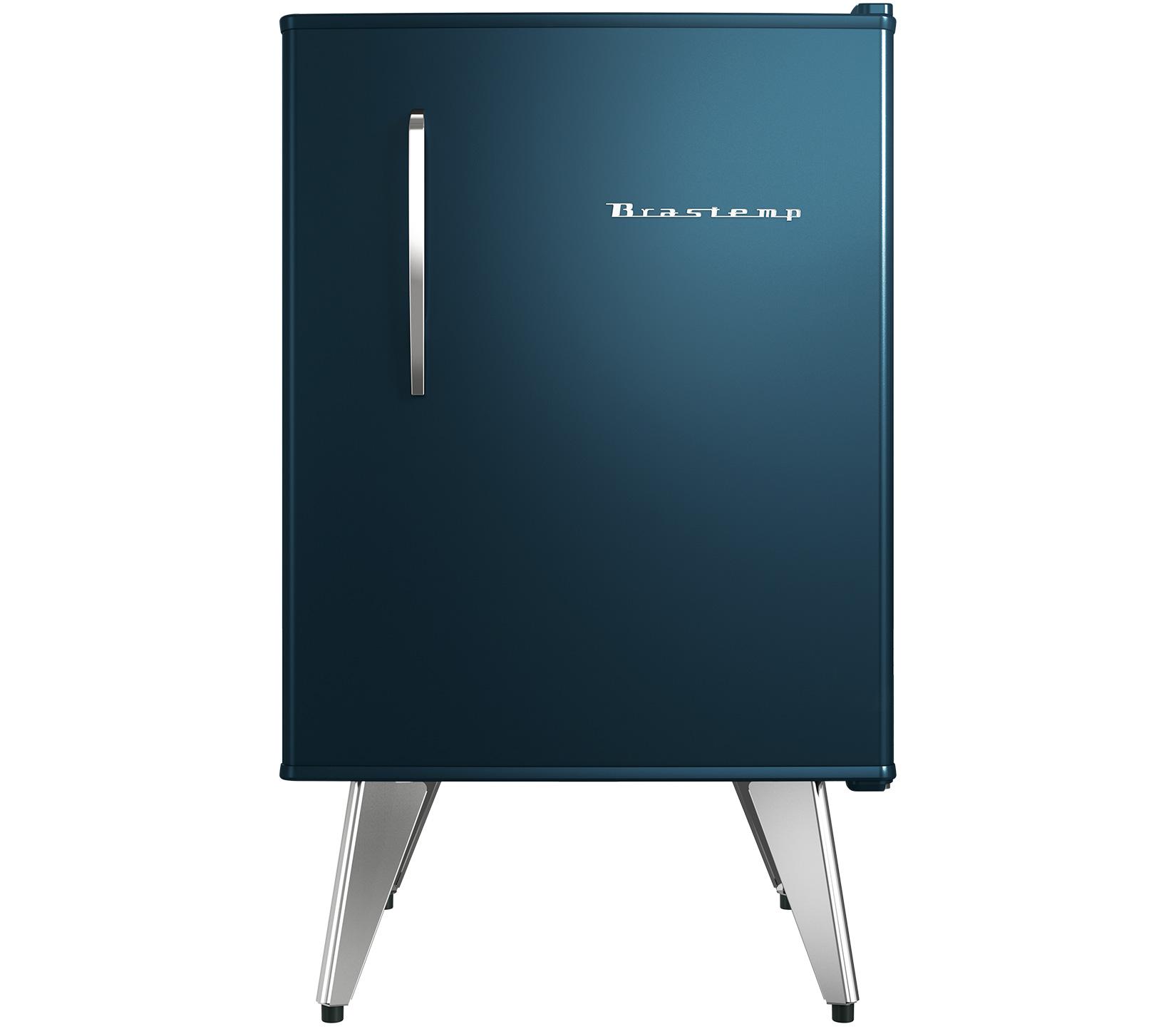 Frigobar Brastemp 1 Porta 76L Azul 127V - BRA08BZ