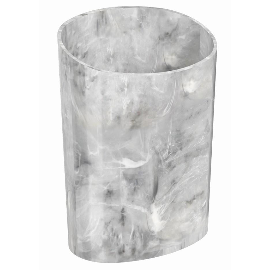 Escorredor de Talheres de Plastico Marmore Branco 208410480 - Coza