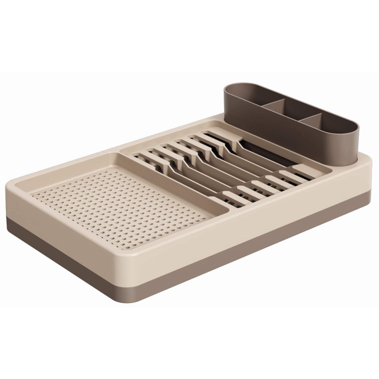 Escorredor de Prato de Plastico Warm Gray 17000 - Coza