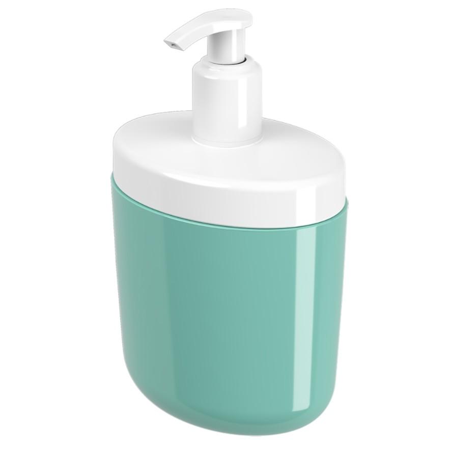 Porta Sabonete Liquido Plastico 450ml Verde 10446 - Coza