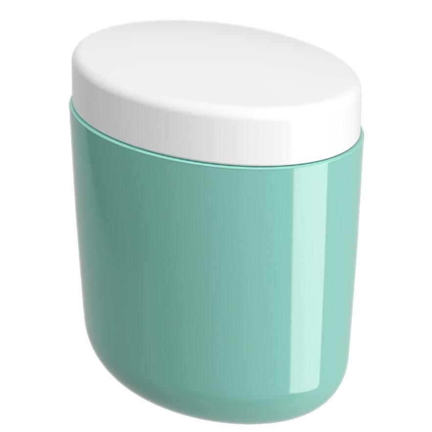 Porta Cotonete Plastico Verde 10449 - Coza