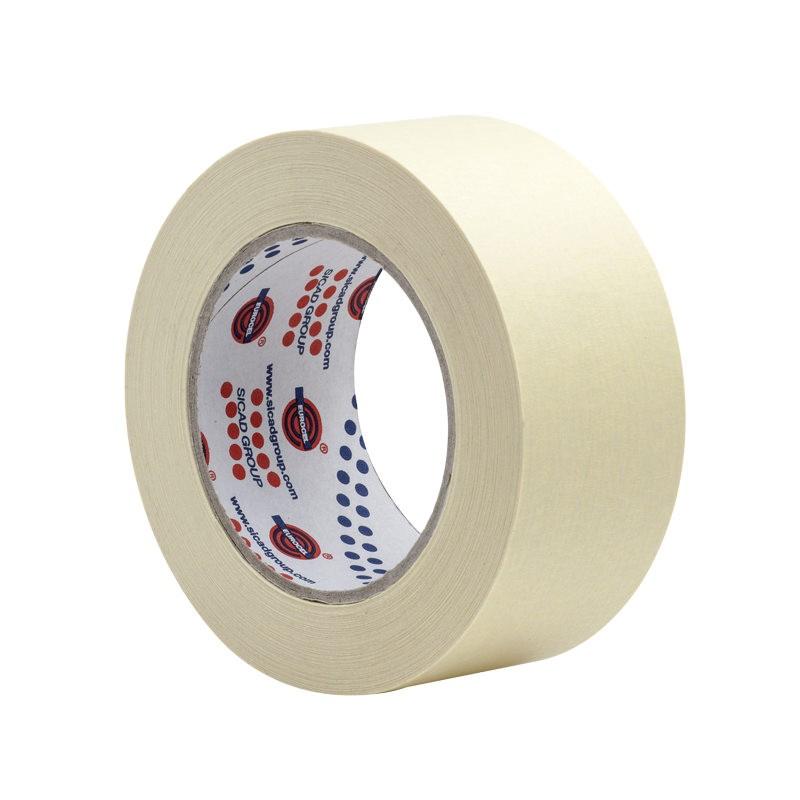 Fita Adesiva Crepe Branco 48mm x 50m 1 Unidade - Eurocel