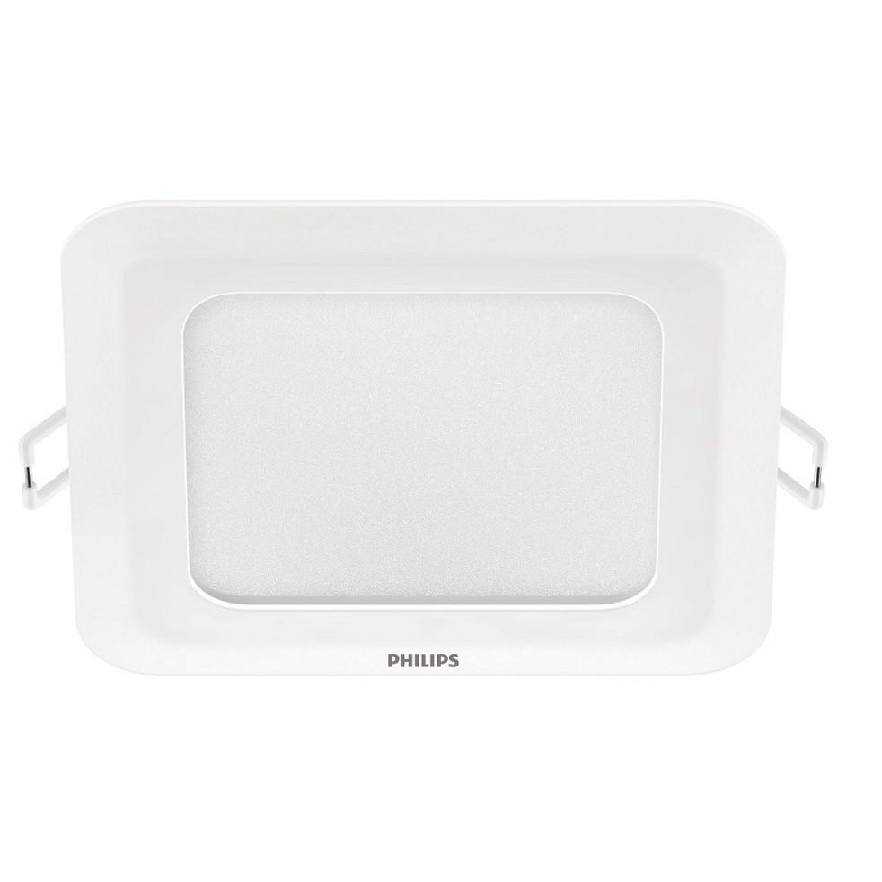 Painel LED Retangular de Embutir Plastico 5W Branca 110220V AM - Philips