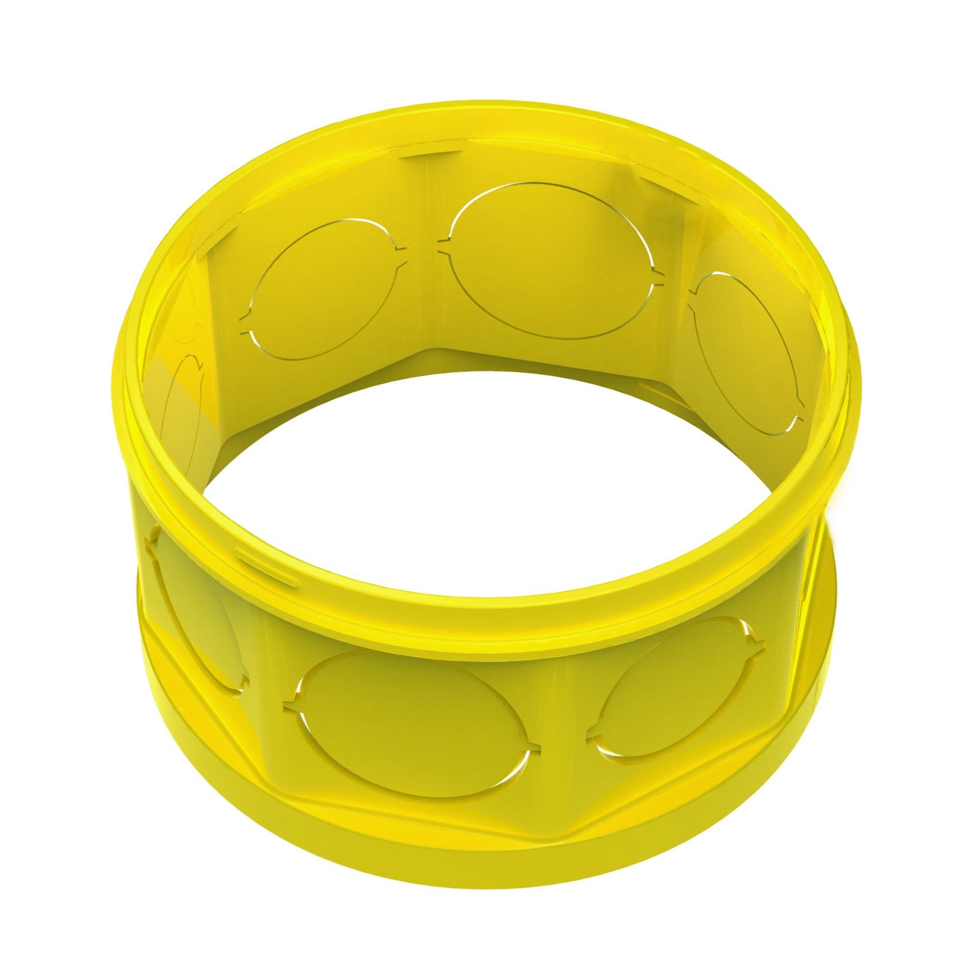 Prolongador 4X4 Amarela Octogonal Flex - Amanco