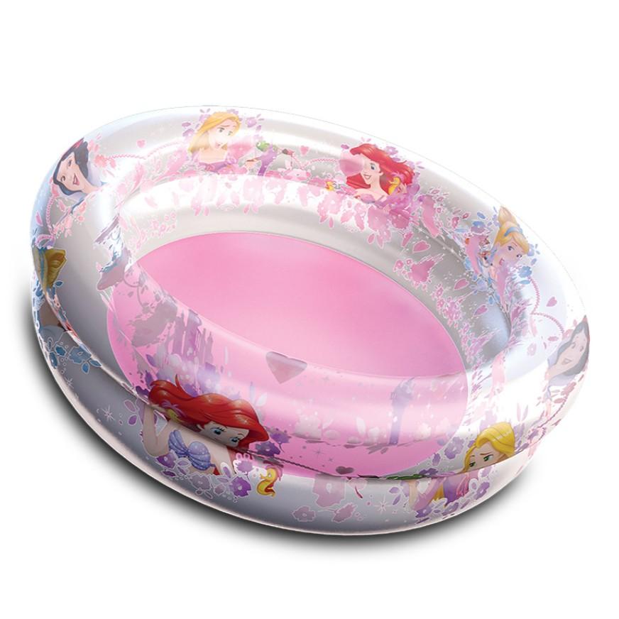 Piscina Inflavel de Plastico Redonda Princesas 75x22cm 70L - Etitoys