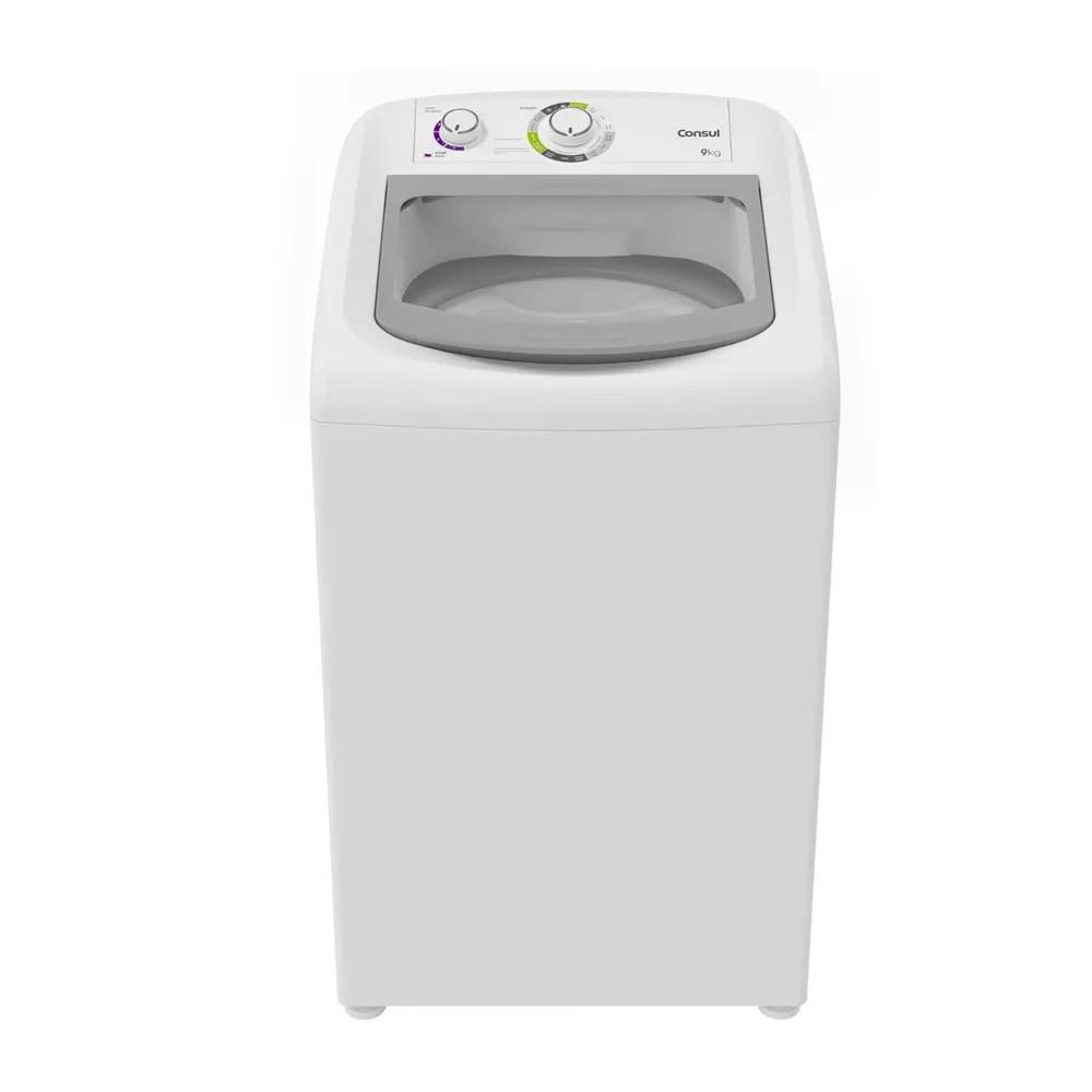 Lavadora de Roupa Consul 9Kg Branco 127V - CWB09ABANA