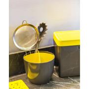 Escorredor de Talheres de Plástico Amarelo 40703037 - Crippa