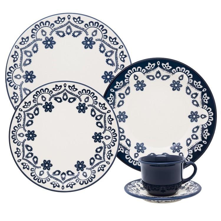 Aparelho de Jantar Energy de Ceramica 20 Pecas - Oxford