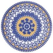 Prato Fundo Redondo em Cerâmica La Carreta 23cm - Oxford