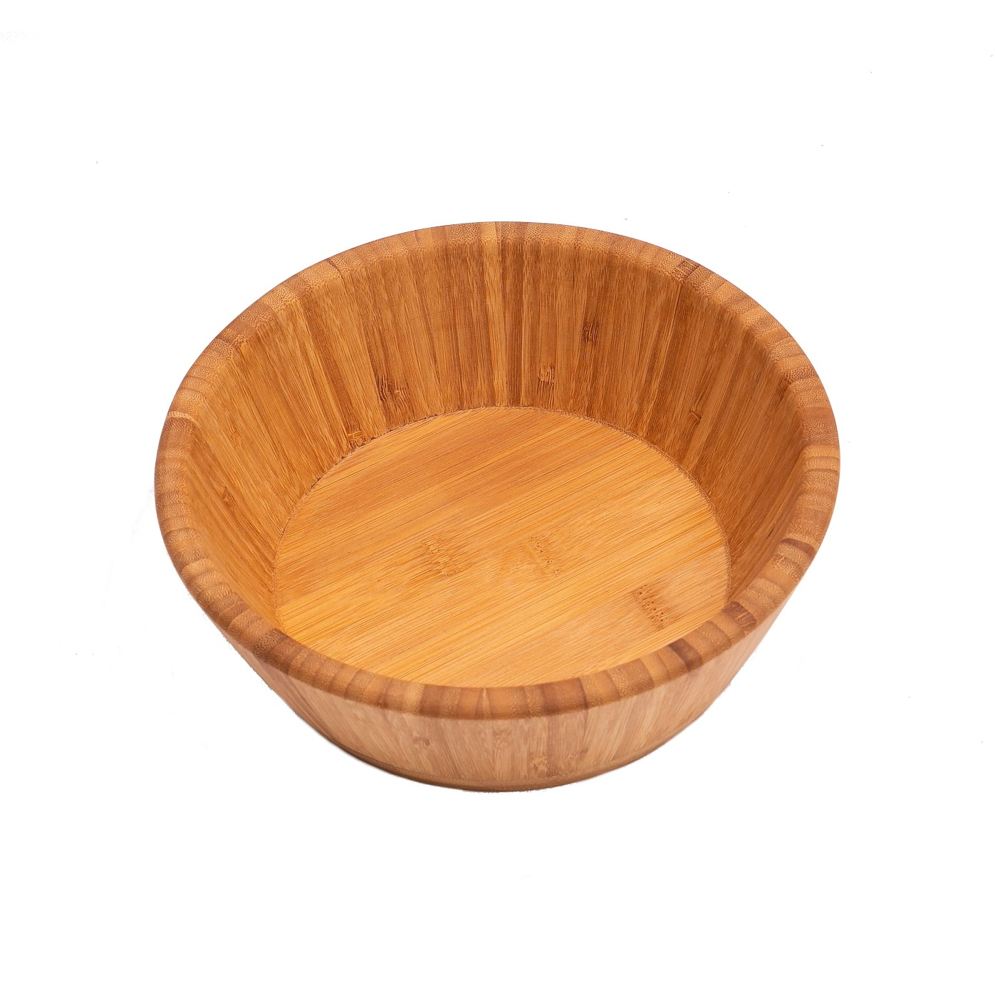 Saladeira de Bambu 25cm Marrom - Bianchini